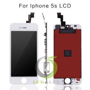 Image 2 - 100% Grade AAA pour iPhone 5SE LCD robe écran 100% pas de pixelsTouch mort écran numériseur assemblée film trempé + outils