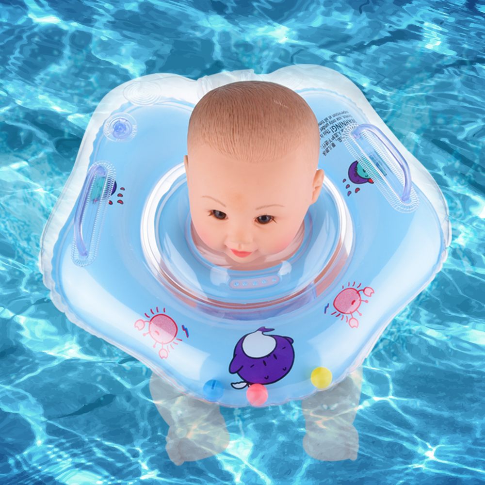 Swimming Pool Accessories Baby Neck Floats For Swim Rings Pools Piscine Floaties Trainer