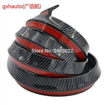 2.5 Meters M3 M4 Z4 Fake Carbon Fiber Car styling Front Bumper lip spoiler for BMW Any Car image