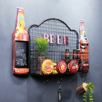 Personality Is Wall Rack Beer Bottle Opener Hook Multifunctional Metal Crafts Factory Direct Tin