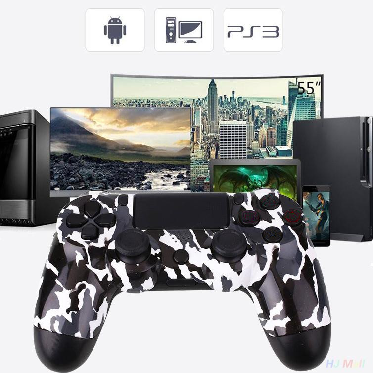 Original Wired USB Camouflage ABS For Sony For PS4 Virration Joystick Gamepads Game Controller Gifts 3