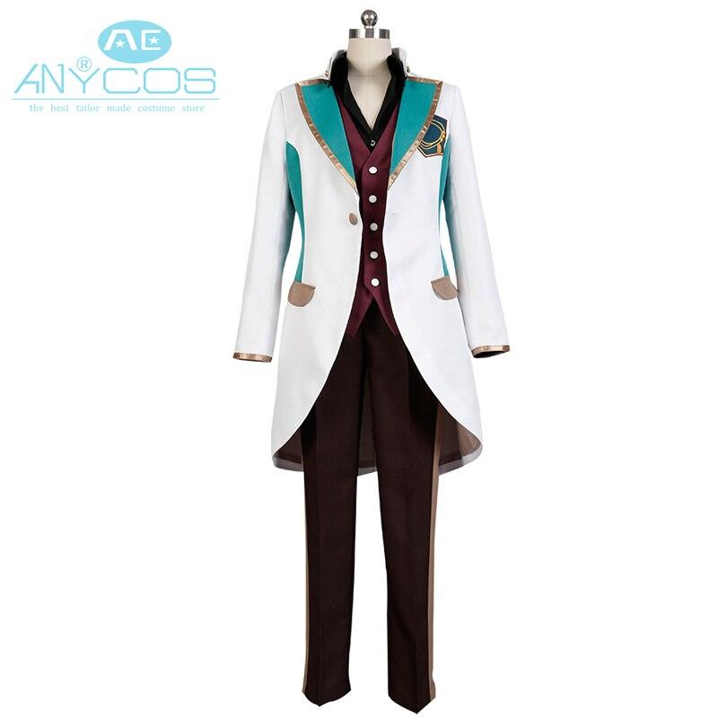 Amine High School Star Musical Itsuki Otori Uniform Suit font b Shirt b font Pants Outfit