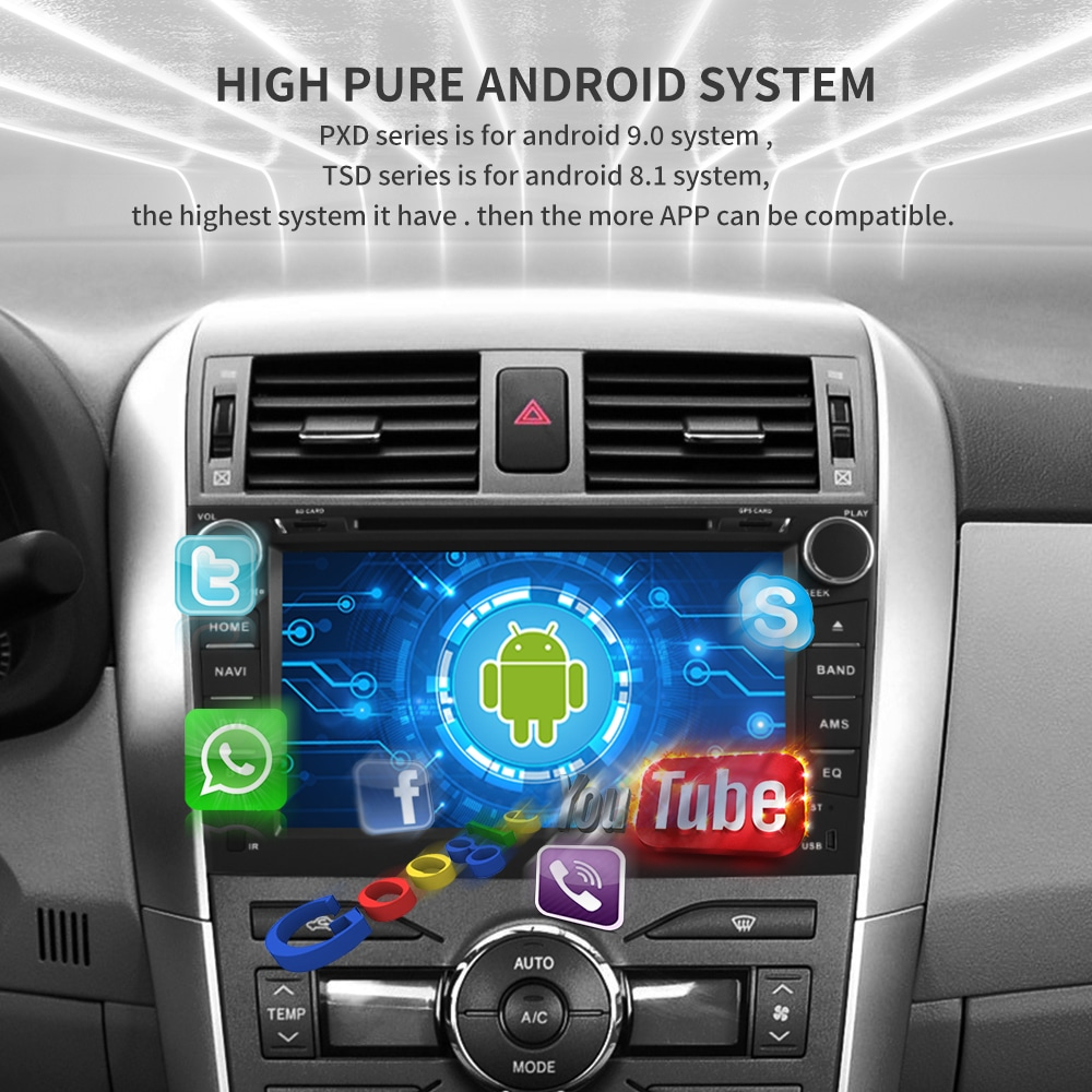 Flash Deal IPS touch screen DSP sound Android 9.0 2 DIN 4g Lte radio For JEEP Grand Cherokee GPS DVD player stereo navigation 7