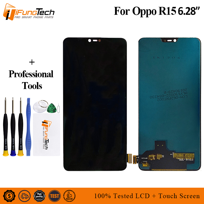For OPPO R15 Full LCD Display Screen Touch Digitizer Assembly For R15 Dream Mirror Edition / R15 DME 4G+ TOUCH ScreenFor OPPO R15 Full LCD Display Screen Touch Digitizer Assembly For R15 Dream Mirror Edition / R15 DME 4G+ TOUCH Screen