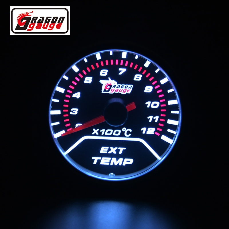 US $19 73 8% OFF|52mm Ext temp gauge Pointer Car Exhaust Gas Temperature  EGT Gauge For Motorcycle And Car Exhaust Temperature Meter Free shipping-in