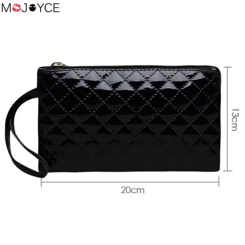 6b71780e92 Hot Sale New Plaid PU Leather Mini Shoulder Bag Women Ladies Clutches Small  Phone Bags Wristlets