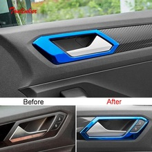 цена на Abs Styling Plating Glass Frame Decorative Box Sequins Sticker for Ford focus 2 3 classic 2005-2012 Fiesta 2009-2014 Accessories