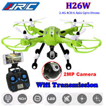 Livraison Gratuite! JJRC H26W HD WIFI Caméra Drone FPV 2.4 Ghz 4CH 6-Axis RC Quadcopter Explorer RTF