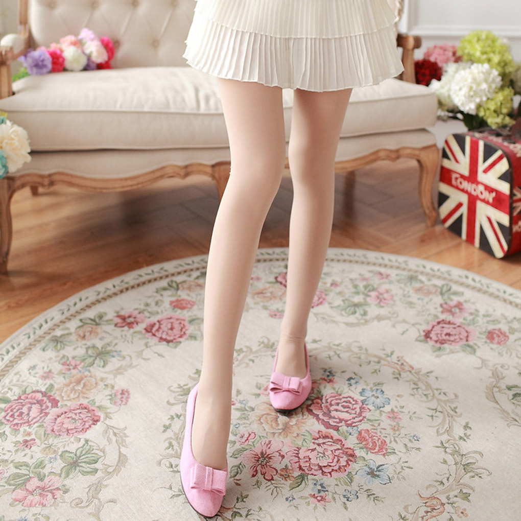 new 100d 140d candy colored thick opaque pantyhose women tights sexy stockingchina mainland - Collants Opaques Colors