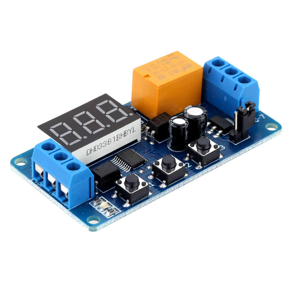 LED Display Digital Delay Timer High Performance Timer Relay Module Automation Control Relay Switch Module 3V/3.7V/4.5V/5V/6V 12v led display digital programmable timer timing relay switch module stable performance self lock board