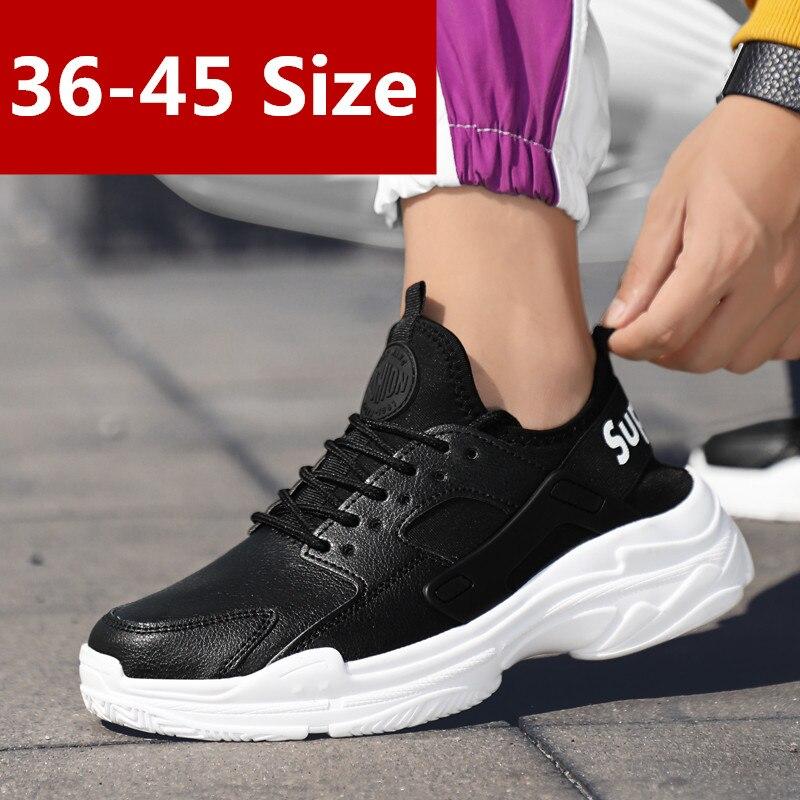 Respirant Cm Mesh Casual Plat 2018 lac forme Sneakers Femme Plate Noir Bleu 6 Formateurs Blanc 45 36 Chaussures Femmes Noir Hith Automne A08Aqd