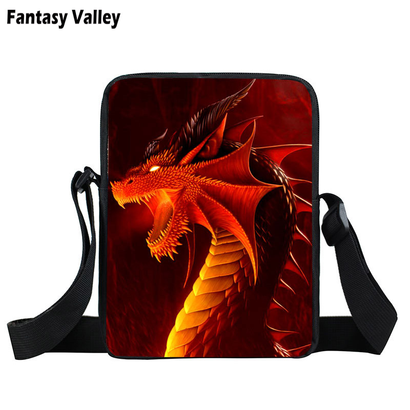 836e31af2e7 Kids Mini Messenger Bag Magic Dragon Prints Bag Boys Girls Crossbody Bags  Children School Bags Bookbag For Snacks Best Gift-in Top-Handle Bags from  Luggage ...