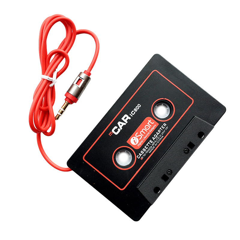 Mobile Phones MP3 or MD Player with 3.5 mm Plug Car Cassette Adapter for Any Old Cars Cassette iPod iPad Portable CD