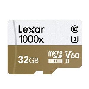 Image 3 - ليكسر tarjeta مايكرو sd بطاقة 32 جيجابايت TF فلاش بطاقة الذاكرة 150 برميل/الثانية 1000x USB 3.0 قارئ UHS II ل الطائرة بدون طيار Gopro بطل الرياضة كاميرا الفيديو