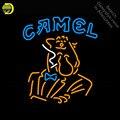 Camel сигарета Мужская неоновая вывеска неоновая световая вывеска фонарь для аркад galss трубы на заказ наружная ресторанная неоновая вывеска д...