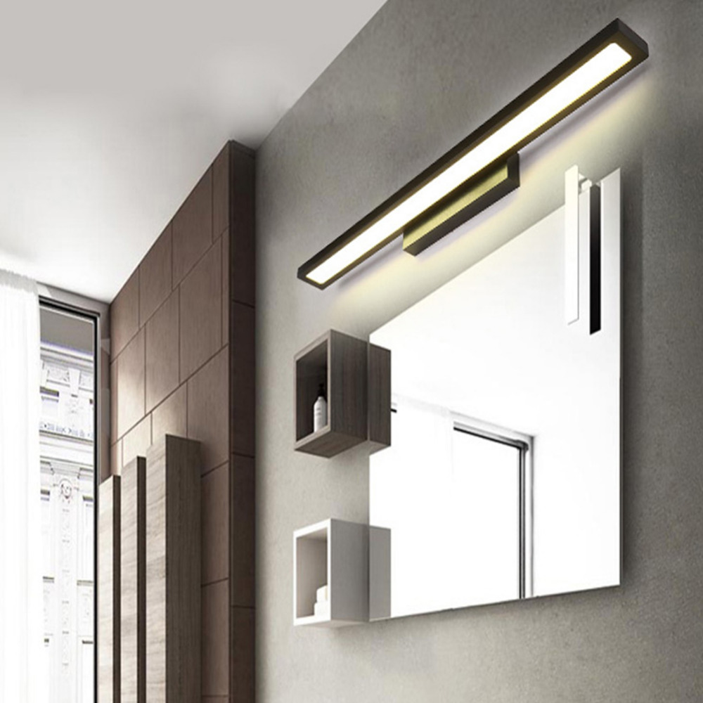 Led Mirror Light Modern Minimalist Personality Makeup Mirror Lamp Table Lamp Bedroom Balcony Bathroom Toilet Mirror Lamp Lights & Lighting