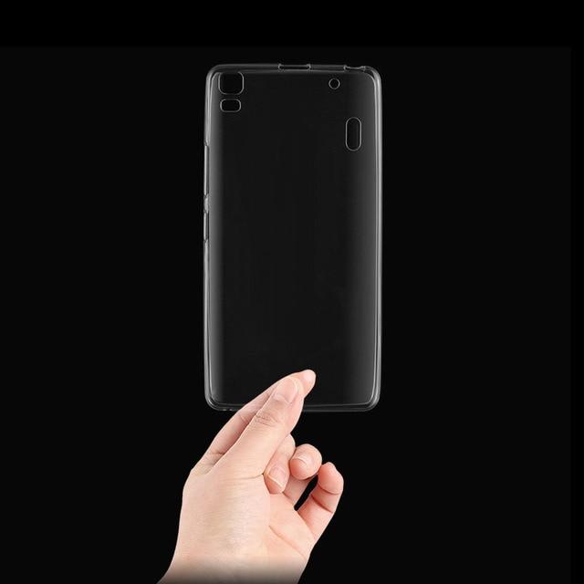 los angeles cc805 4d595 for Lenovo K3 NOTE K50 T5 K50 T case original case cover TPU case silicon  back cover Lenovo K50 phone cases coque funda -in Phone Bumper from ...