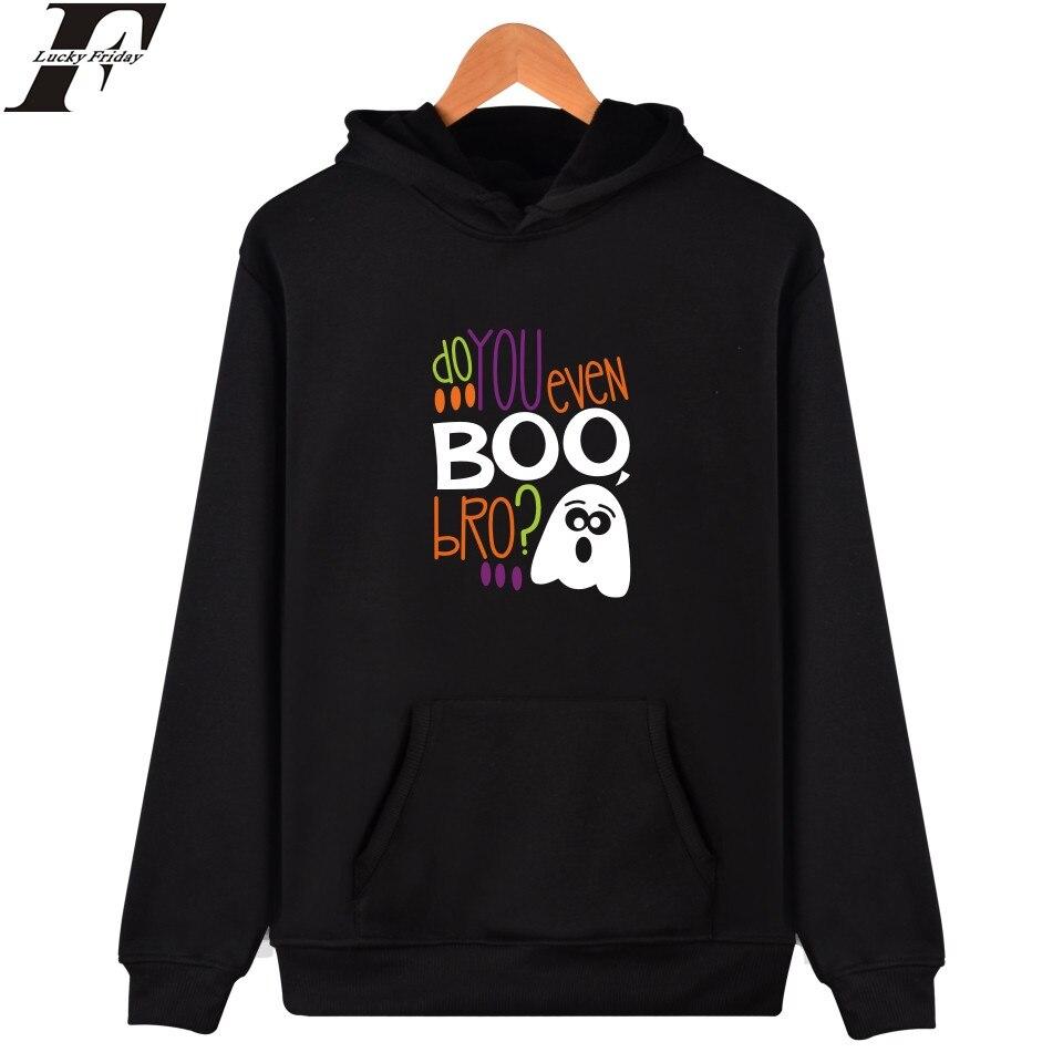 LUCKYFRIDAYF Halloween Sweatshirt Men Hoodies Fashion Hoodie Mens Hip Hop Funny Long Hoodie Sweatshirt 4XL New Casual Pullovers