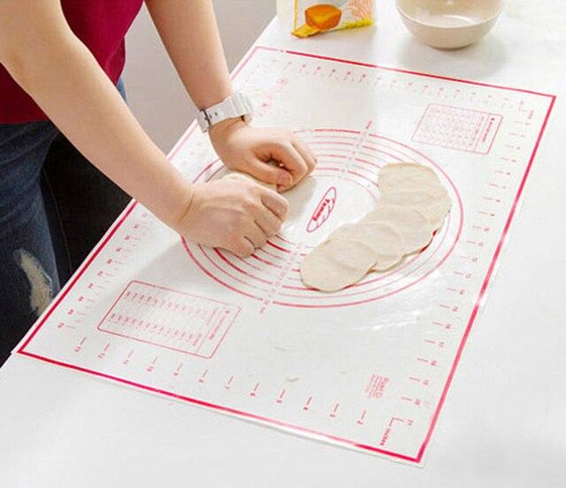 Hoomall Antiaderente Da Forno In Silicone Zerbino di Rotolamento Pasta Pasticcer