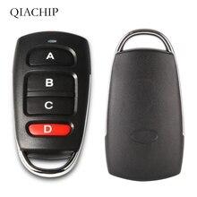 Télécommande universelle sans fil 4 boutons 433MHz RF transmetteur pour ouvre porte de Garage porte Code dapprentissage porte clés