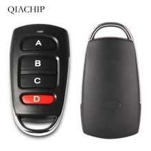Universal  Wireless 4 Buttons 433MHz RF Transmitter Remote Control For Gate Garage Door   Opener Learning Code Key Fob DI