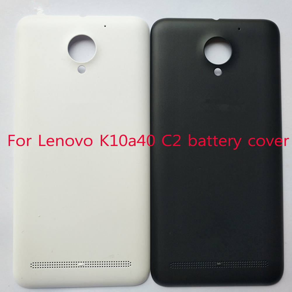 Original 2750 MAh /3500 MAH Door Back Battery Cover Housing For Lenovo K10a40 C2 Replacement Parts With Logo