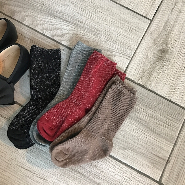 Glitter Socks – 4 Pair