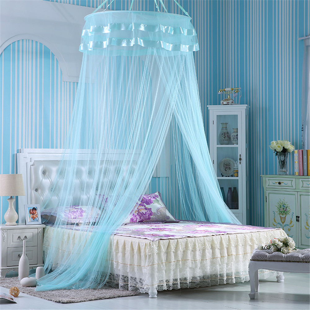 popular blue bed canopy-buy cheap blue bed canopy lots from china