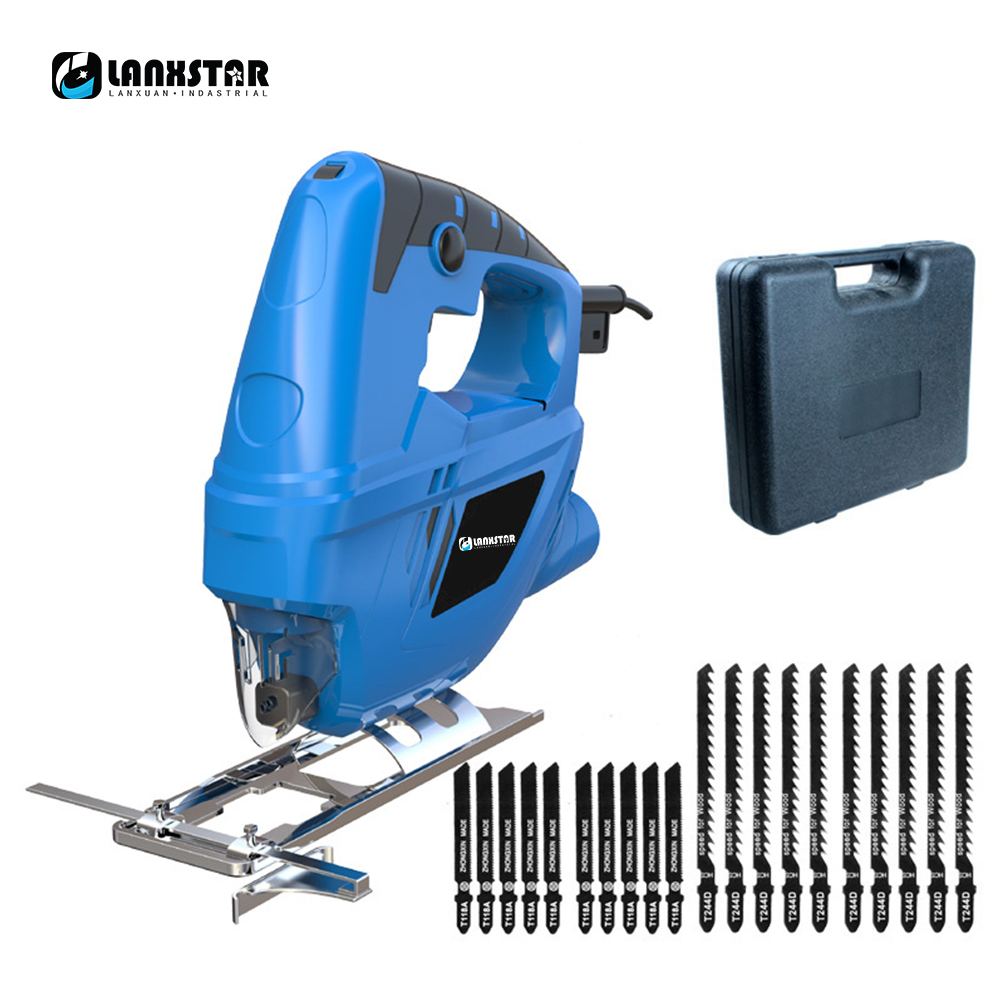 Lanxstar Electric Curve Saw Plus 20pcs Saw Blade Household Electric Woodworking Saw Multi-Function Dust Free Sawing MachineLanxstar Electric Curve Saw Plus 20pcs Saw Blade Household Electric Woodworking Saw Multi-Function Dust Free Sawing Machine