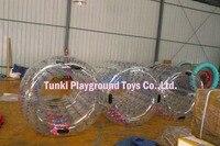 150*150 см indoor используются надувные ролика цилиндра с красочными океан шары