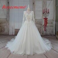 2017 تصميم جديد حار بيع عالية الجودة منشفة الدانتيل خاص الزفاف فستان الزفاف ثوب مخصص كم طويل بثوب الزفاف مصنع
