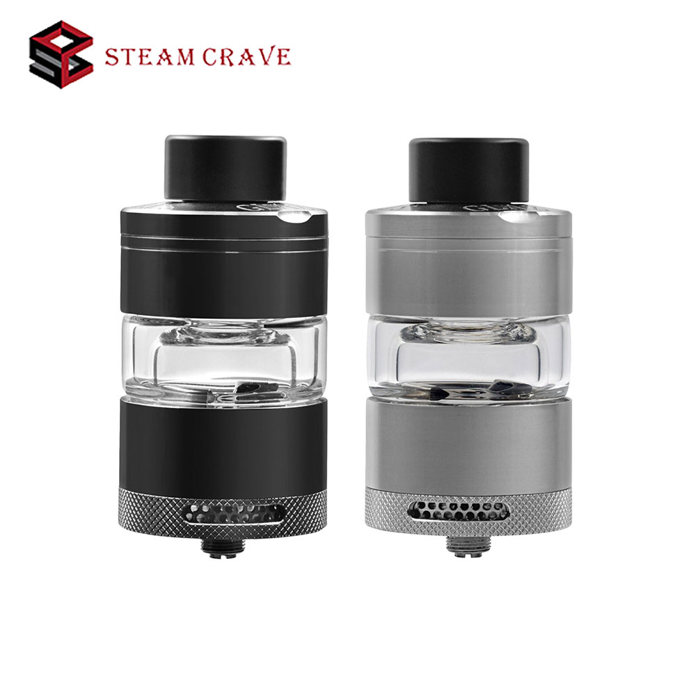 Original steam crave Glaz RTA 30mm RTA 7ML rta Bottom Angled Airflow Design Atomizer 7ml PC Tank vs Aromamizer Plus RDTA laura mercier lm 14 7ml