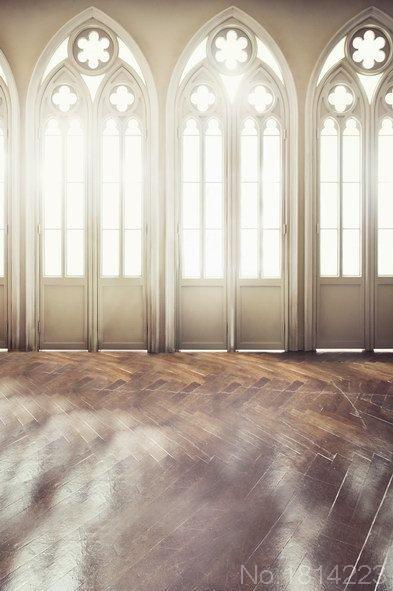 3x5ft luz del sol arco rail puertas sala interior de textura de madera de piso fotograf a - Puertas piso interior ...