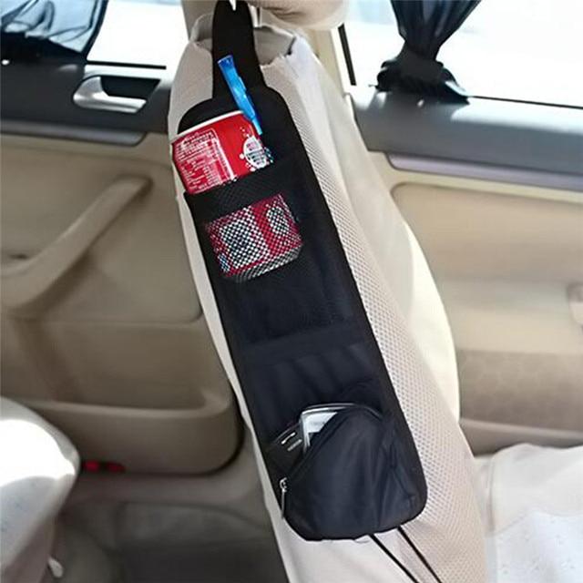 Car Hanging Bag Storage Bag Vehicle Car Organizer Auto Seat Side
