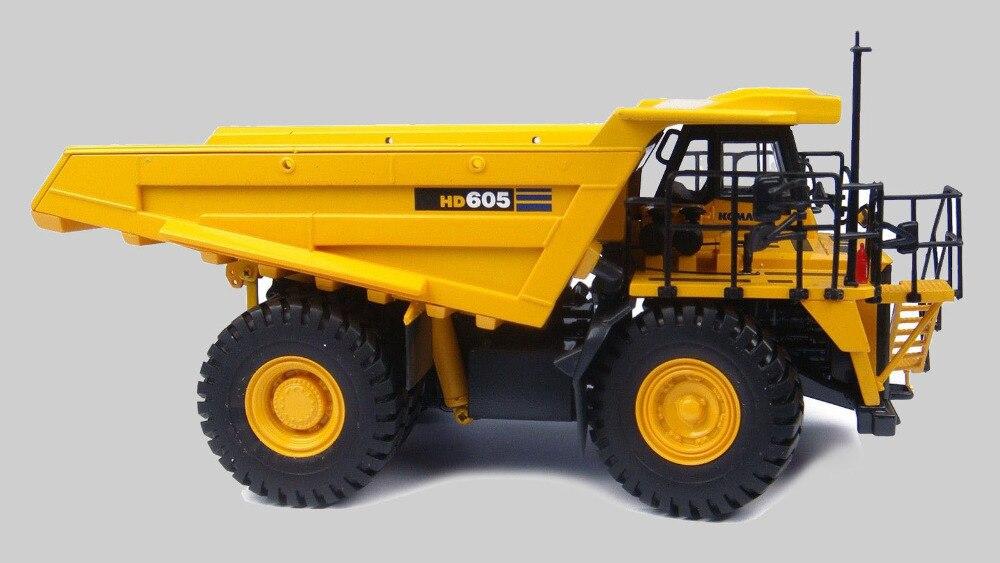 Hobi Universal Komatsu HD 605 Kamion jashtë autostradës 1:50 - Makina lodër për fëmije - Foto 2