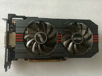 Used Original ASUS GTX 650TI GPU Graphics Card 1GB GDDR5 128BIT VGA Card Gaming Stronger Than