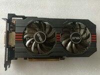 Used Original ASUS GTX 650TI GPU Graphics Card 1GB GDDR5 128BIT VGA Card Gaming Stronger Than