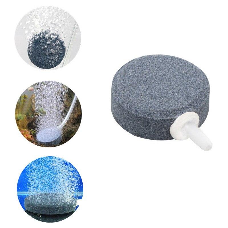4 см аквариум воздушный пузырь каменный диск аквариум аэратор для пруда Гидропоника воздушный дисфузер для кислорода воздушный насос аксес...