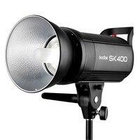 Professional Godox SK400 400W Studio Strobe SK Series 110V/220V Power 5600K Max 400WS GN65 Flash Studio Light Lamp