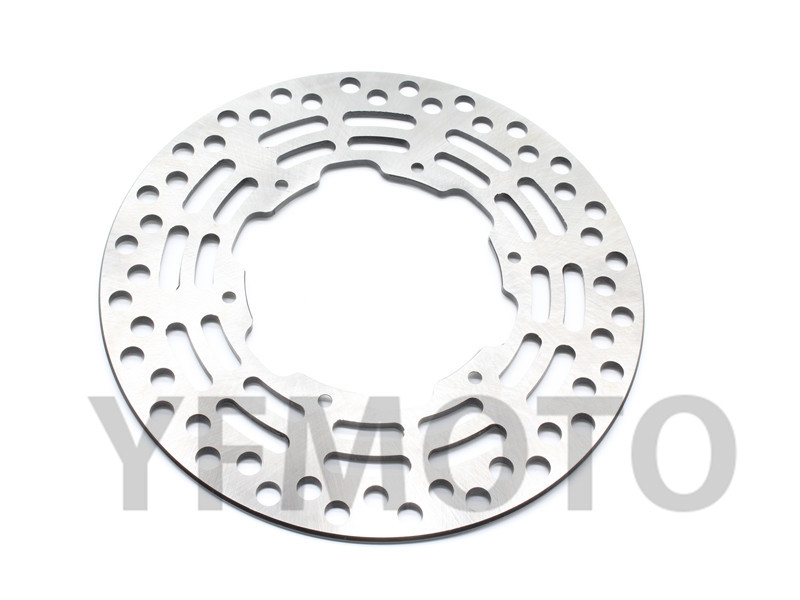 Motorcycle Drilled Slotted Brake Disc Rotor For Ya maha WR-125 WR125 WR250 WR250F YZ-125 YZ250  WRF/YZ 426 4-T WR/YZ 450 450F motorcycle brake disc rotor fit for yamaha yz 125 wr 250 1988 2001 wr125 yz250 1999 2000 wr250f yz 250f yz250 wr426f 2001 rear