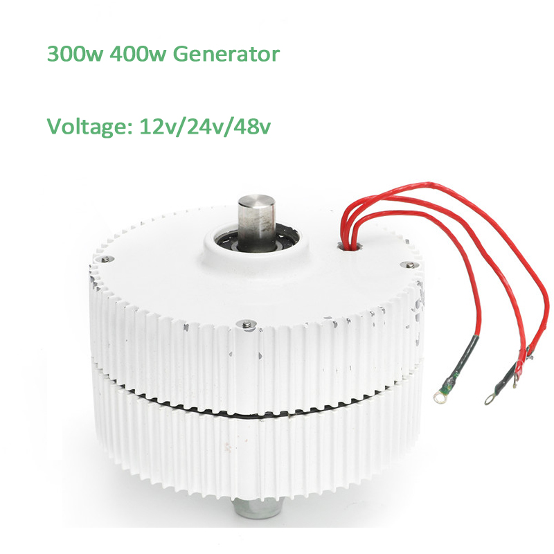 300W Permanent Magnet Generator AC12v 24v 48v Low Speed 600rpm Alternator for design your own wind turbines 300w 350w 150 200 250 400rpm 24v 48vdc low speed low start up for diy permanent magnet coreless generator alternator