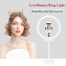 ZOMEI 128 Photography Selfie ring light Dimmable LED Video Studio Light for Canon Pentax Sony Nikon DSLR Camera for Phone xiaomi