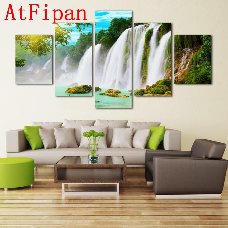 дерево фотографий большой водопад