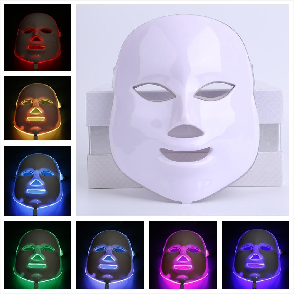 Korean Photodynamic LED Facial Mask Home Use Beauty Instrument Anti acne Skin Rejuvenation LED Photodynamic Beauty Face Massage beauty instrument home facial detoxification acne skin rejuvenation introducer lifting firming wrinkle massage beauty equipment