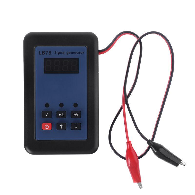 4-20mA/0-10 V/mV courant tension générateur de Signal Source de Signal calibrateur testeur de Signal avec sac de transport