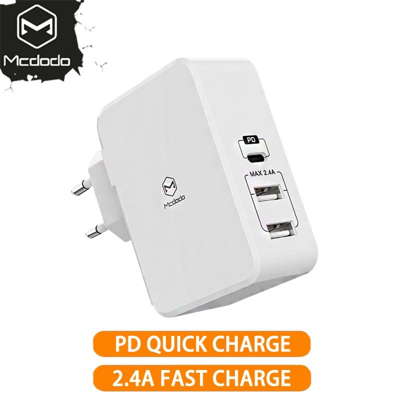 EU/US Adapter USB Type c PD 41W Fast USB Wall Charg