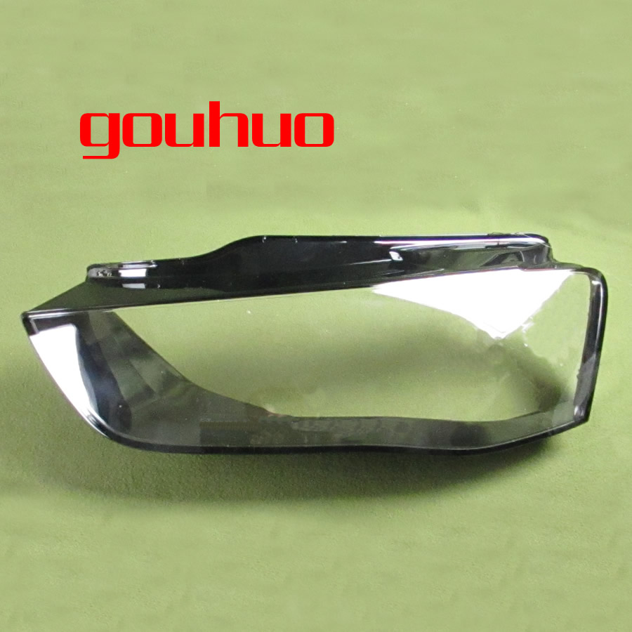 Headlights Shell Headlamp Cover Headlight Glass Lampshade Shell Transparent Lampshade For Audi A4l 13 15 2pcs