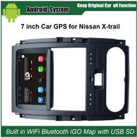 Free DVR Rear View Camera Car Media Player For Nissan X Trail