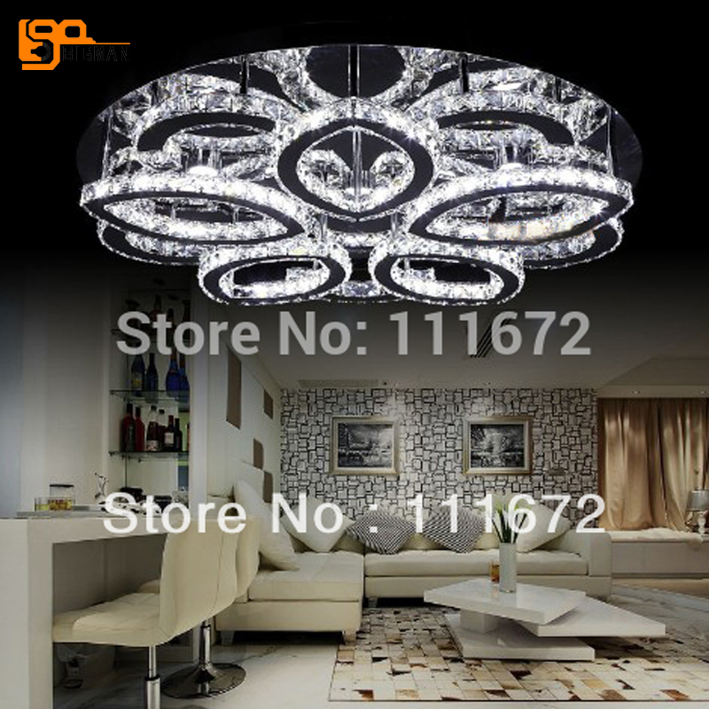 new modern LED crystal ceiling lights ceiling lamp lustre lamparas de techo for living room modern led ceiling lights for home lighting plafon led ceiling lamp fixture for living room bedroom dining lamparas de techo