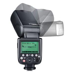 Image 5 - Godox TT685C TT685S TT685N TT685F TT685O TTL HSS kamery lampa błyskowa lampa błyskowa z Xpro nadajnik do Canon Sony Nikon Fuji Olympus